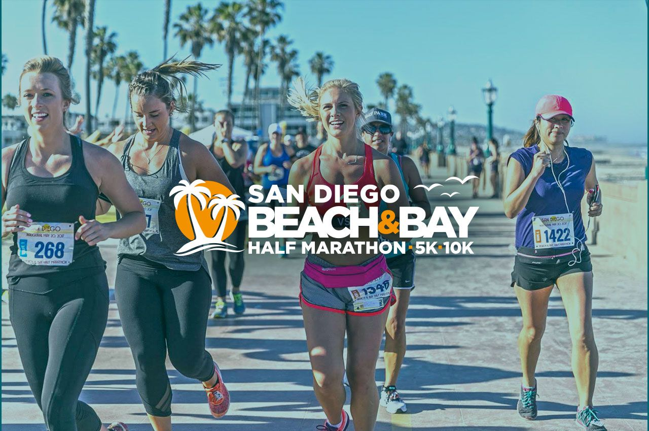 San Diego Beach and Bay